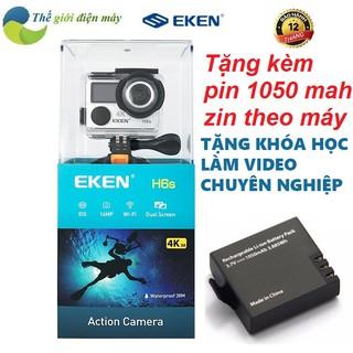 Camera hành trình EKEN H6S tặng kèm pin zin 1050mah chính hãng, bảo hành 12 tháng, hỗ trợ đổi trả 1 vs 1 thumbnail