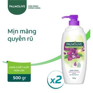 """Bộ 2 chai sữa tắm Palmolive mịn màng quyến rũ 100% chiết xuất từ phong lan 500g/chai giá chỉ còn <strong class=""""price"""">12.300.000.000đ</strong>"""