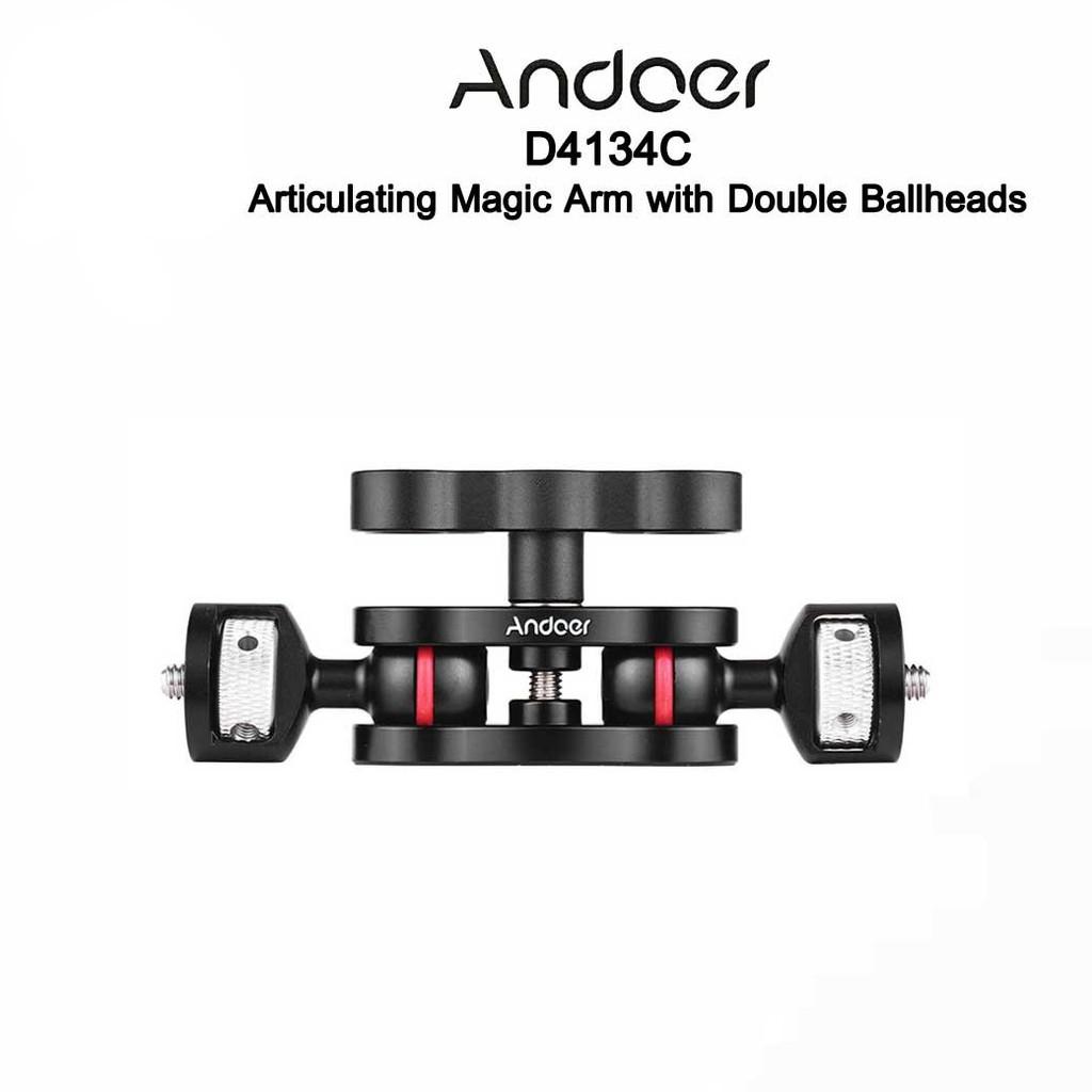 Andoer D7000S - Articulating Magic Arm with Double Ballheads เมจิกอาร์มพร้อมหัวบอล2หัว