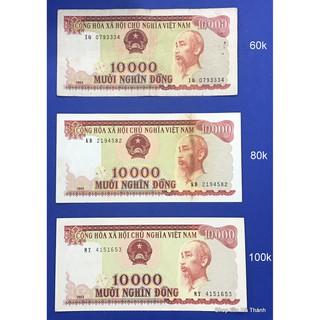 TỜ 10000 ĐỒNG ĐỎ 1994 VIỆT NAM