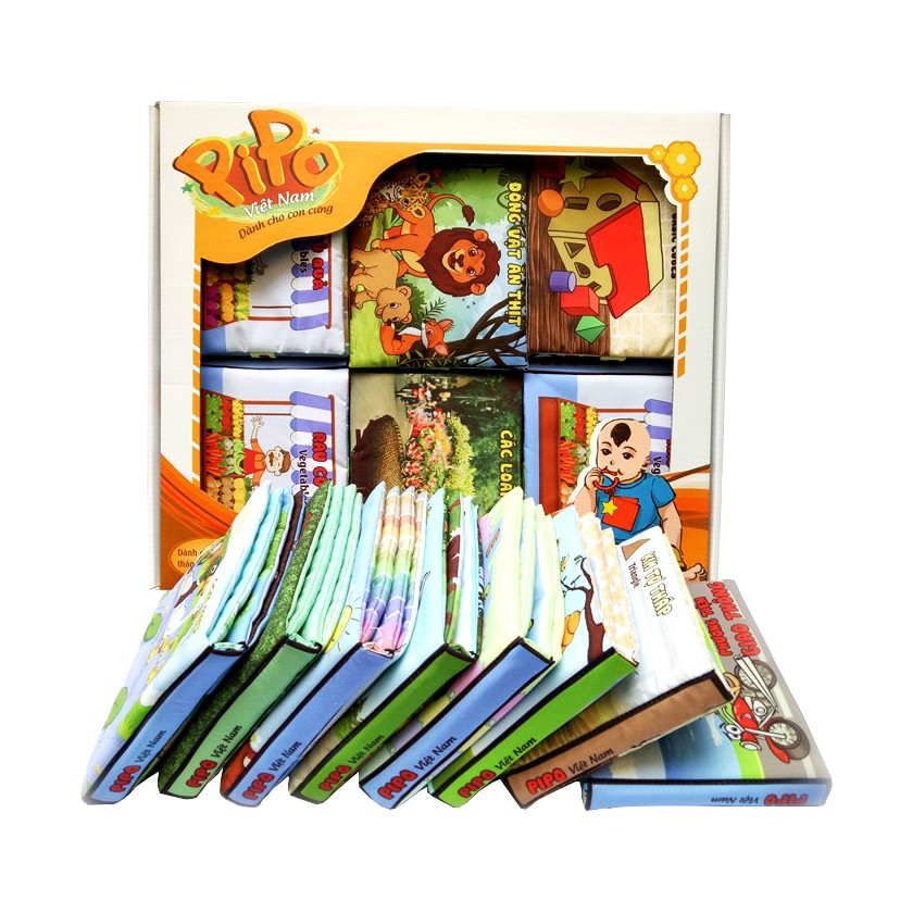 Set Sách vải pipo - 2407539 , 275106691 , 322_275106691 , 410000 , Set-Sach-vai-pipo-322_275106691 , shopee.vn , Set Sách vải pipo