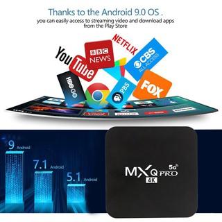 MXQ PRO 5G 4K HD Smart TV Box / 4G + 64G / Hộp giải mã mạng Hộp giải mã tại nhà Hộp điều khiển từ xa phương tiện thông minh