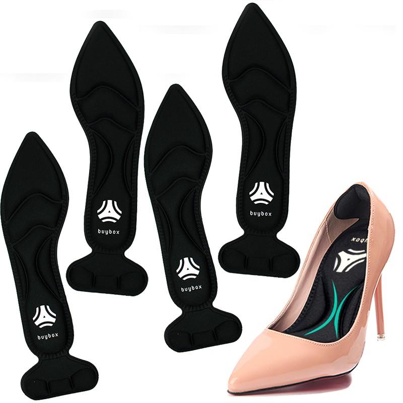 2 cặp lót giày cao gót mũi nhọn giảm size cho giày bị rộng, thoáng khí và êm chân- buybox - BBPK55 - BBPK11