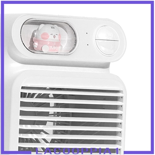 [LACOOPPIA1]Air Conditioner Humidifier Fan 4000mAh with 150ml Ice Water Tank for Room
