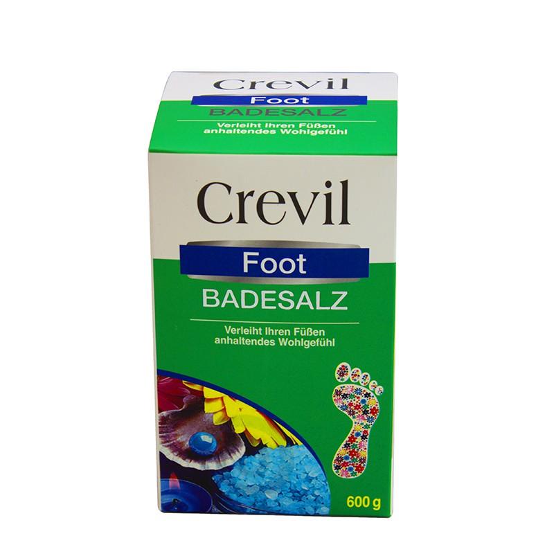 Muối khoáng ngâm chân biển chết Crevil Foot Badesalz 600g (Nhập khẩu Đức)