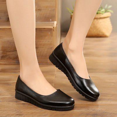 Giày da đế bệt, giày búp bê công sở đế cao su êm , chống hôi chân , không đau gót chân - Vincent Shop