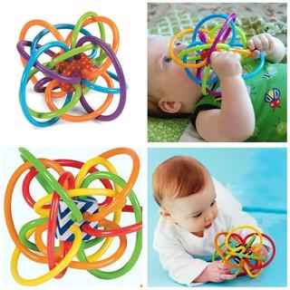 Bóng nhựa đồ chơi phát triển trí thông minh cho bé