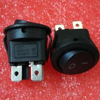 Bộ 5 công tắc ổ điện bật/tắt 4 chân nối tiện lợi KCD1 23MM