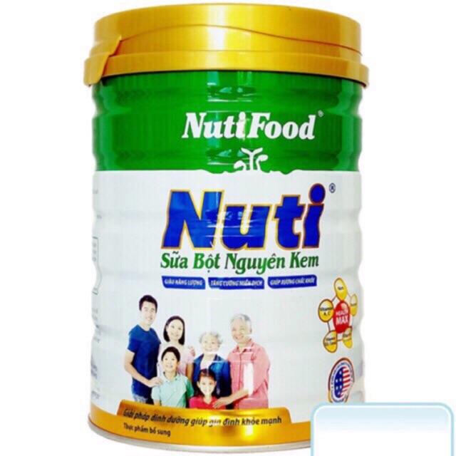 Sữa Bột Nguyên Kem Nutifood 900G thumbnail