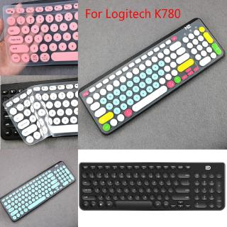 Miếng Dán Bàn Phím Silicon Siêu Mỏng Cho Logitech K780 thumbnail