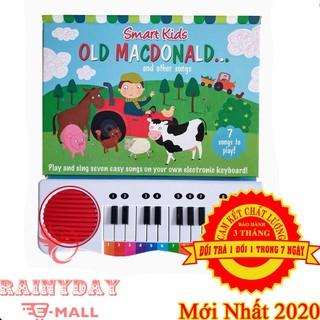 Đàn Piano Cho Em Bé, Trẻ Con Học Tiếng Anh Hiệu Quả Kết Hợp Âm Nhạc Và Ngôn Ngữ Với Sách Điện Tử Mini – OLD MACDONALD
