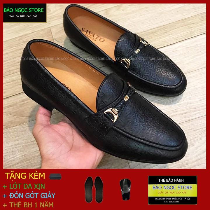 Giày Da Nam Băng Xích Thời Trang✅Giày Lười Nam Da Bò 100%✅Bảo Hành 1 năm ❤️Đế Cao Su Đúc❤️Mã K26