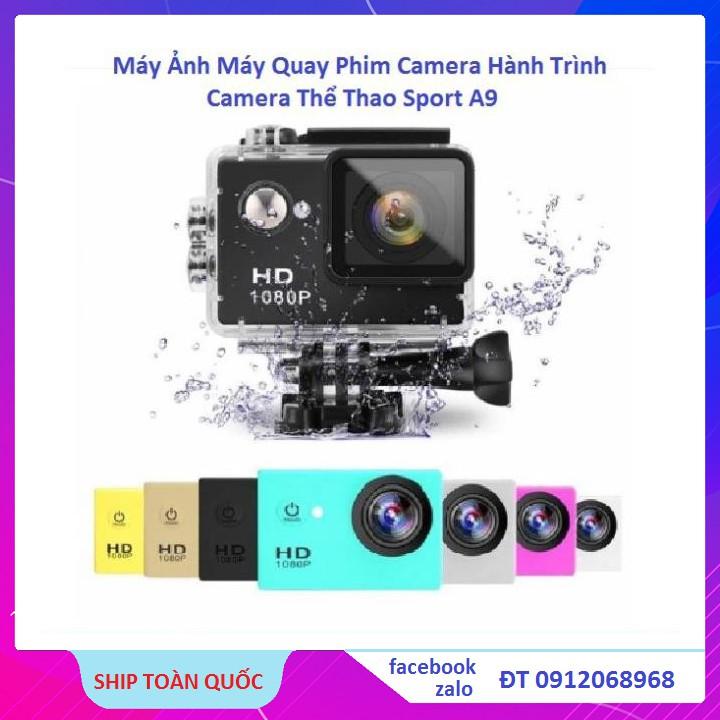 Máy Ảnh,Máy Quay Phim,Camera Hành Trình Thể Thao Sport A9 Full HD 1080P