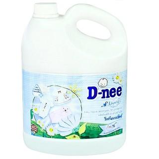 Nước giặt xả D-nee bình trắng 3000ml M154