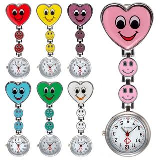 Đồng hồ bỏ túi hình trái tim mặt cười dễ thương cho y tá