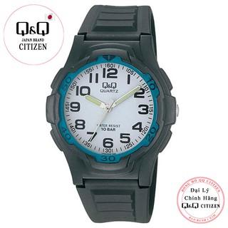 Đồng hồ nam thể thao Q&Q Citizen VP84J008Y kim dạ quang, dây nhựa thương hiệu Nhật Bản