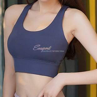 Mặc gì đẹp: Năng động với Áo Bra Chéo Dây LYCRA Tập Gym, Áo Ngực Tập Yoga, Aerobic, Zumba, Có Mút, Tôn Vòng Ngực, Co Giãn Tốt, Ôm Body