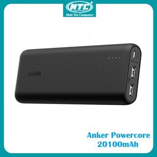 [Mã ELAPR20K giảm 20K đơn 20K] Pin sạc dự phòng Anker PowerCore 20100mAh - A1271 (Đen) - Hàng chính hãng thumbnail