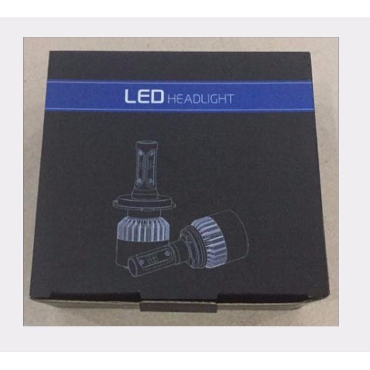 Đèn Led Headlight S2 siêu sáng Ô tô, xe máy - 8000Lm, 36W 9v-32v, Cos/pha trắng 6500k (Bộ 2 đèn - Chân đèn H4) - 23065373 , 1348615624 , 322_1348615624 , 690000 , Den-Led-Headlight-S2-sieu-sang-O-to-xe-may-8000Lm-36W-9v-32v-Cos-pha-trang-6500k-Bo-2-den-Chan-den-H4-322_1348615624 , shopee.vn , Đèn Led Headlight S2 siêu sáng Ô tô, xe máy - 8000Lm, 36W 9v-32v, Cos