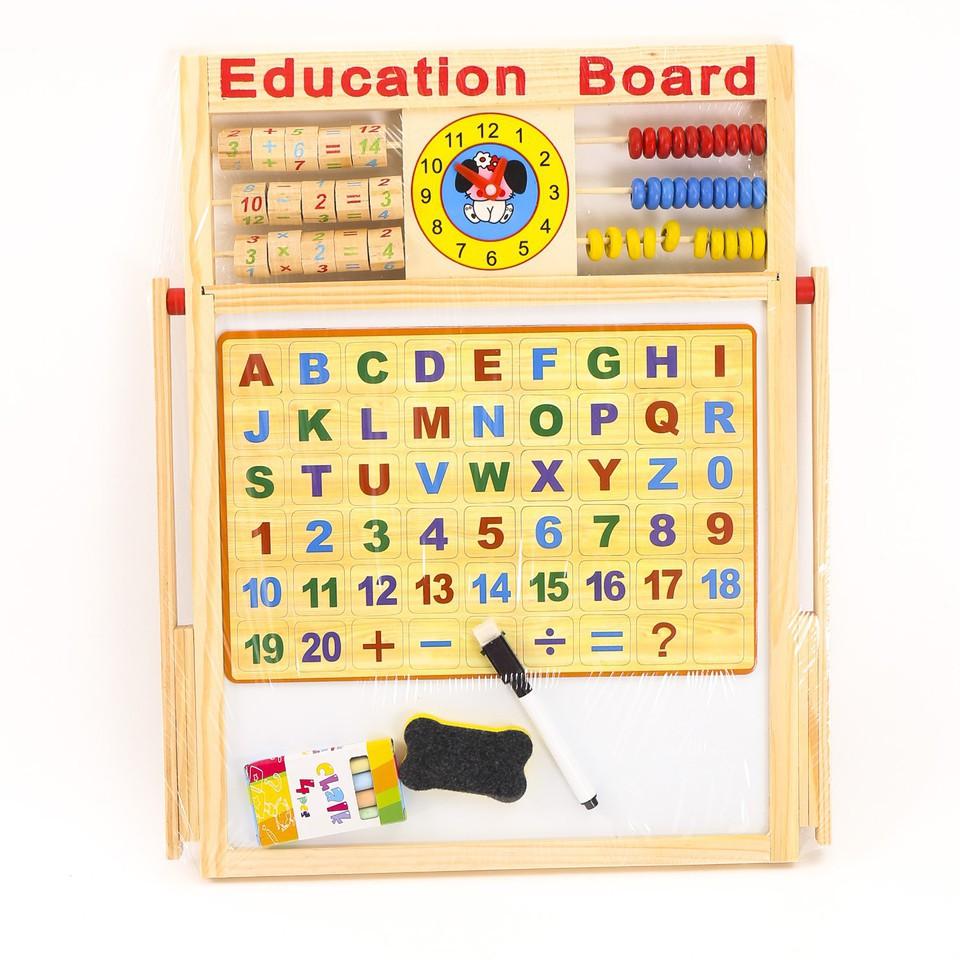 Bảng từ tính 2 mặt Education Board dạy bé viết và học bảng chữ cái -  học nhanh hơn, sáng tạo hơn