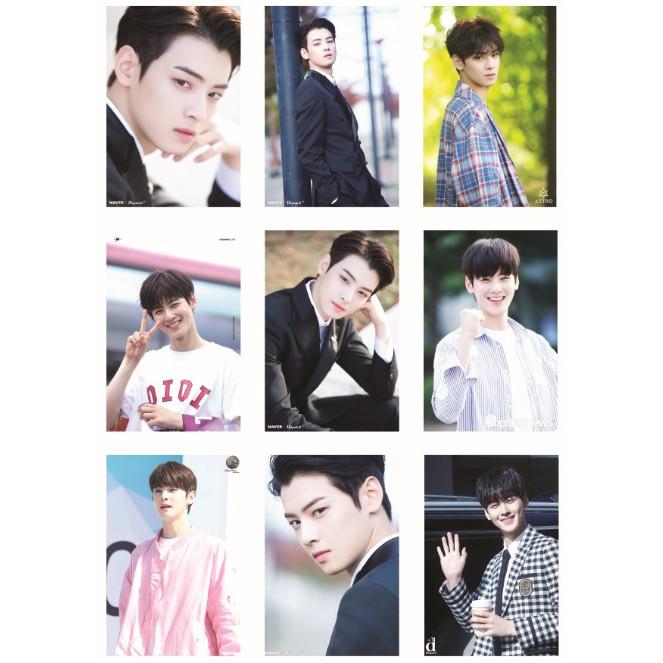 Lomo card ảnh thành viên ASTRO - CHA EUN WOO Naver x Dispatch full 72 ảnh