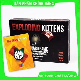 [Trợ giá] Combo Mèo Nổ Hẹn Giờ Exploding Kittén đen 18+_Hàng cao cấp