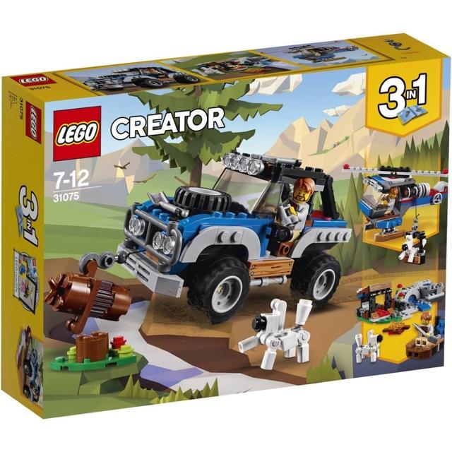 LEGO CREATOR 31075 – Xe thám hiểm địa hình (3 in 1)