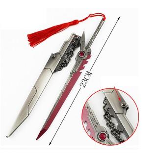 Mô hình đạo cụ Fiora Liên Minh Huyền Thoại 22cm tặng chân đế trưng bày thumbnail