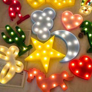 Đèn Led Ngủ Hình Ngôi Sao Năm Cánh Dễ Thương Cho Phòng Ngủ