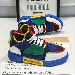 Giầy Sneaker nam ulzzang phối màu độc và lạ 088