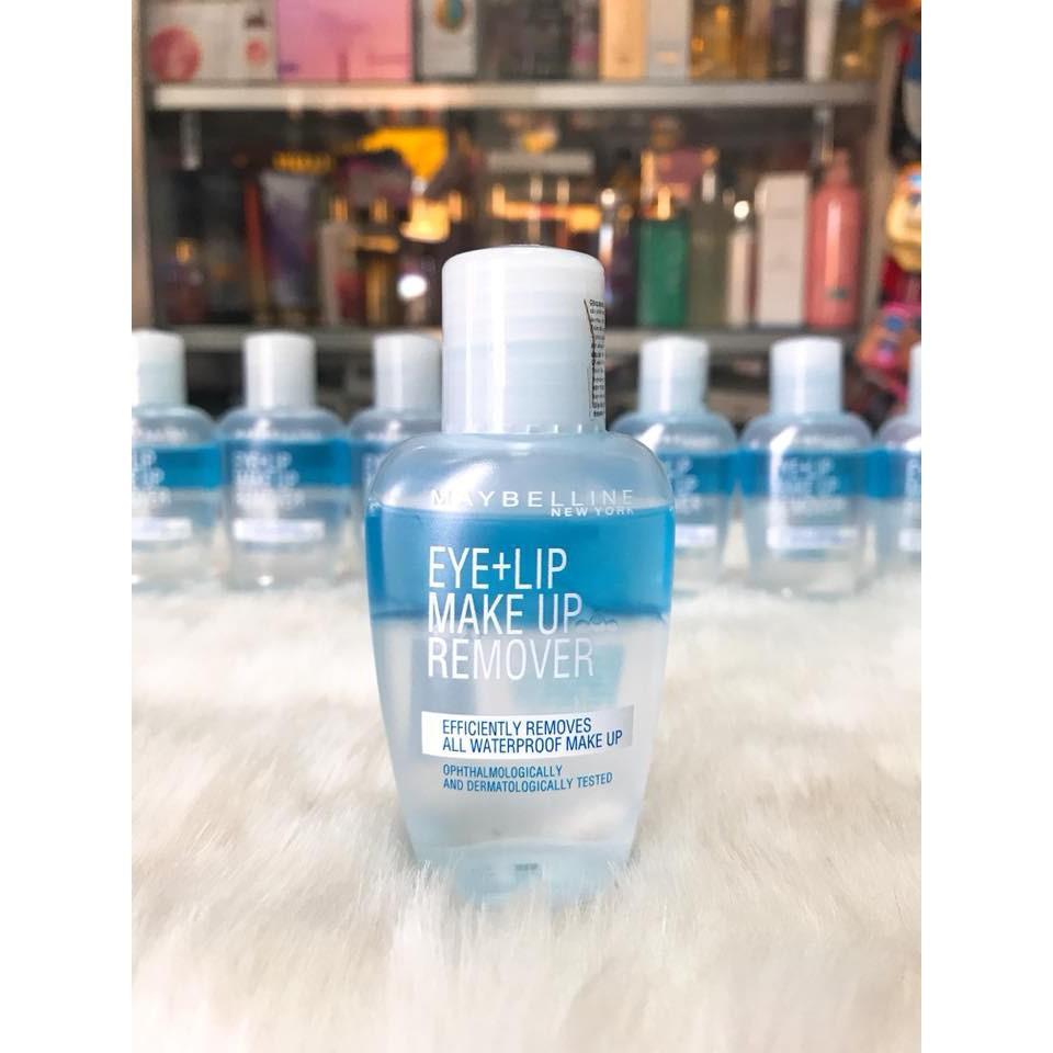 Nước Tẩy trang mắt môi Maybelline Makeup Remover Eye & Lip Makeup Remover |  Shopee Việt Nam