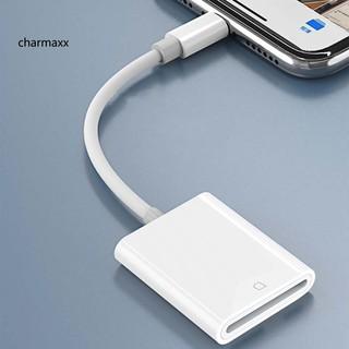 Đầu Đọc Thẻ Nhớ Otg Sd / Tf / Sdhc Cho Apple Iphone Ipad Điện Thoại Tablet