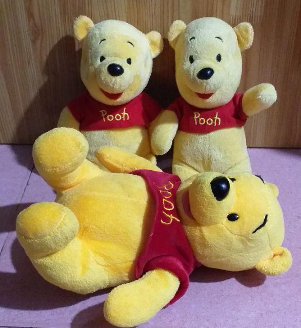 Gấu bông gấu pooh (set gấu pooh)