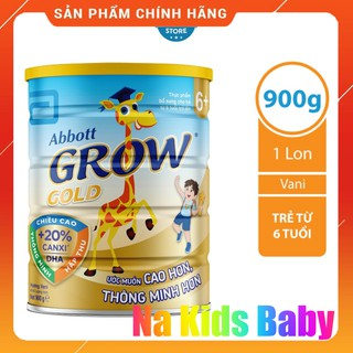 Sữa bột Abbott Grow Gold 6+ hươu cao cổ 900g chính hãng date 2023 thumbnail