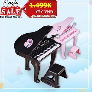 ĐÀN PIANO CỔ ĐIỂN WINFUN KÈM MIC – MÀU ĐEN – QUÀ TẶNG MERRIES