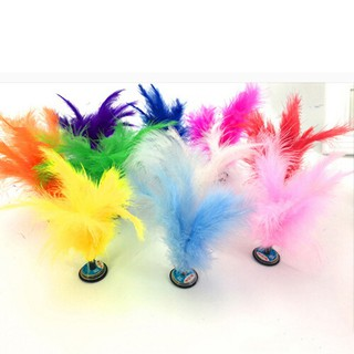 Kick Feather Shuttlecocks Foot Sports Toy Playing Games Shuttlecock Random