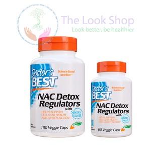 Viên uống NAC Detox Regulators- Doctor's Best USA