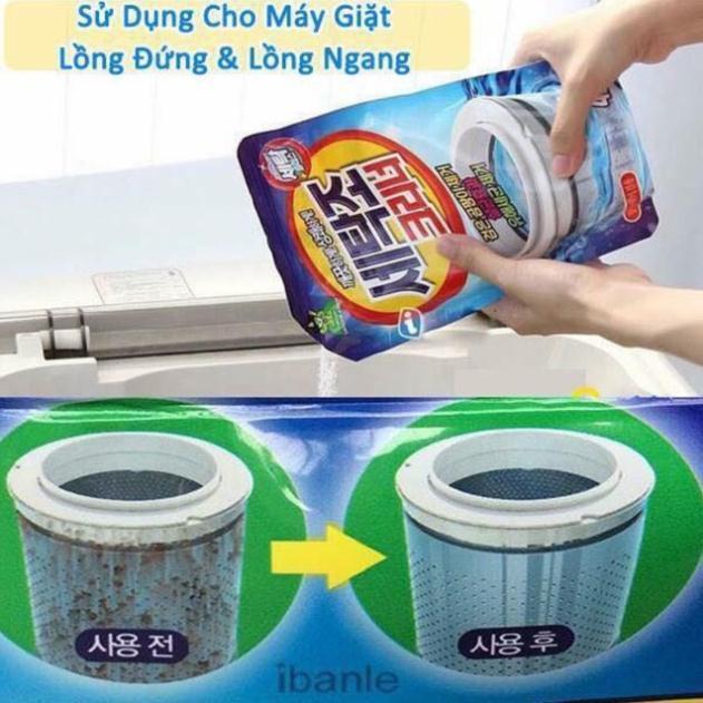 Gói tẩy lồng máy giặt