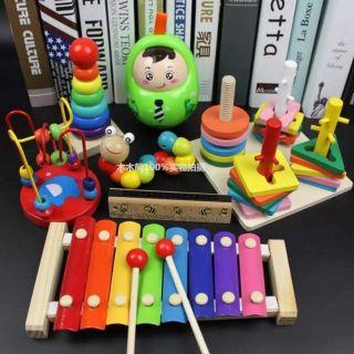 Bộ 7 đồ chơi thông minh giúp trẻ phát triển trí tuệ