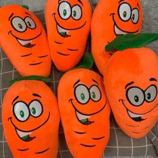 Gấu bông hình củ cà rốt