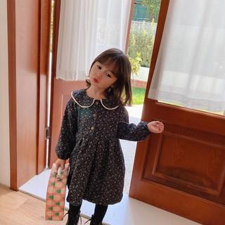 Váy Cà Bông Hoa Nhí Siêu Cute Cho Bé