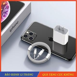 Sạc nhanh iphone 20W Cốc sạc 20w và dây sạc PD hỗ trợ sạc nhanh cho iphone 11/ iphone 11pro max , iphone 12 / 12 pro max