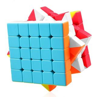 Rubik 5x5x5 đẹp, xoay trơn, không rít, độ bền cao. Rubik MJ MoYu Guoguan Xinghen Stickerless. Rubik 5×5.