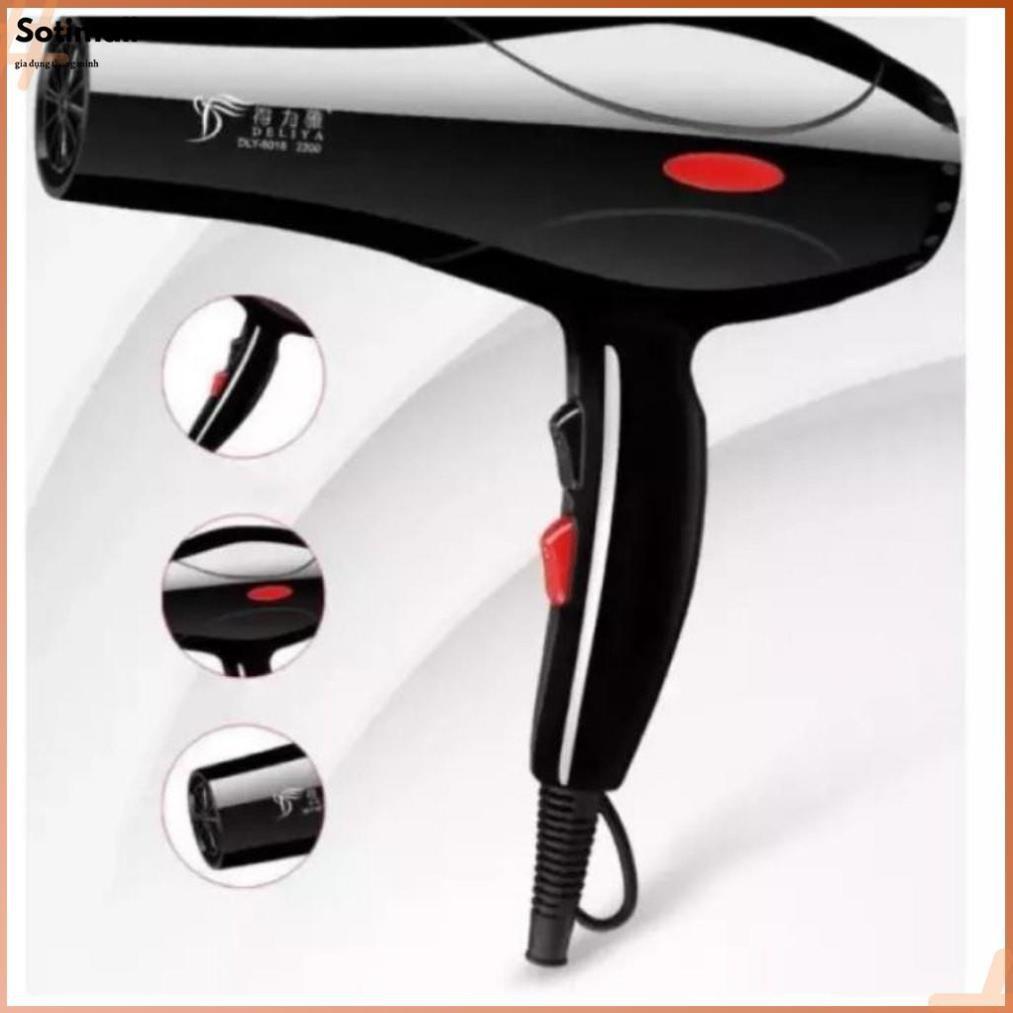Máy sấy tóc máy sấy tóc hai chiêu máy uốn tóc máy tạo kiểu tóc máy sấy tóc  2200W chính hãng Deliya giá cạnh tranh
