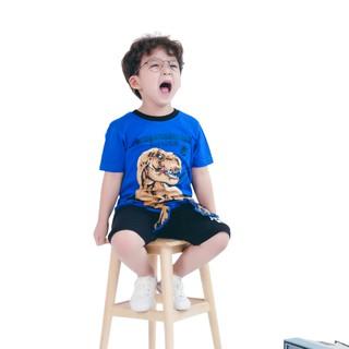 Bộ quần áo ngắn tay Jurassic World bé trai Rabity 30039