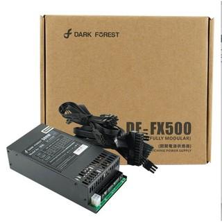 Bộ nguồn full-modular Flex 1U 80 plus silver chất lượng cao Dark Forest