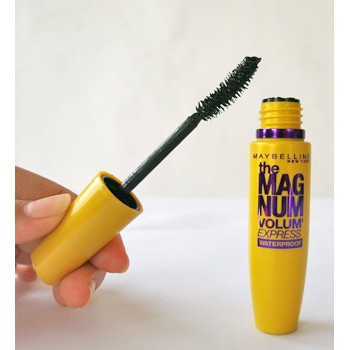 Mascara Làm Dày Mi Gấp 10 Lần & Ngăn Rụng Mi Maybelline Magnum 9.2ml, hàng chính hãng, DATE mới