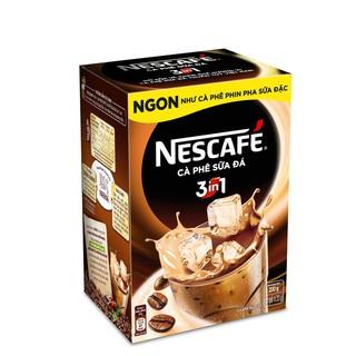 Hình ảnh [HN] Hộp 10 gói x 20g NESCAFE Café Cà phê sữa đá-2
