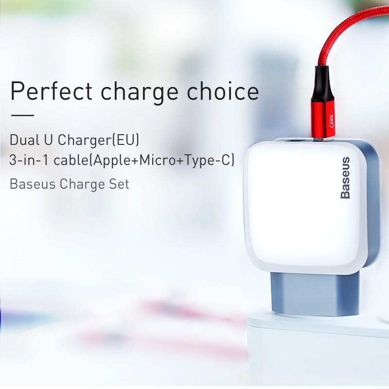 Dây cáp sạc dữ liệu USB loại C Baseus dành cho điện thoại
