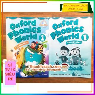 [FREESHIP+SIÊU RẺ] Đồ chơi – Oxford Phonic World 1 SB+WB – Học Tiếng Anh